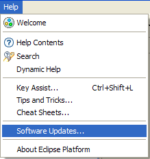Eclipse help software updates.png