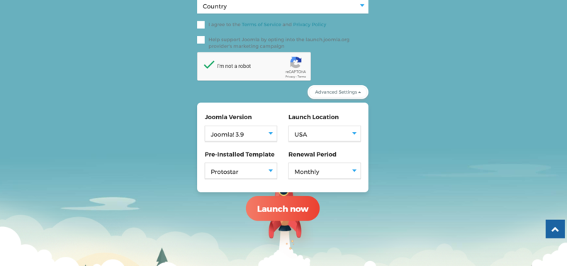 Launch-Joomla-homepage-advanced-settings.png