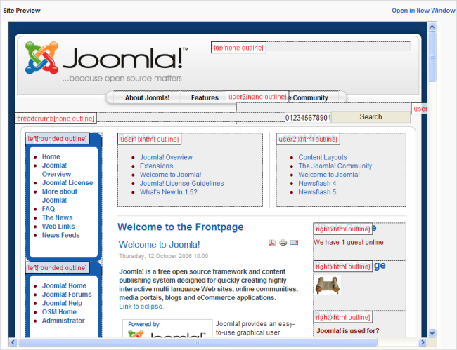 Help15 joomla documentation for Joomla administrator templates