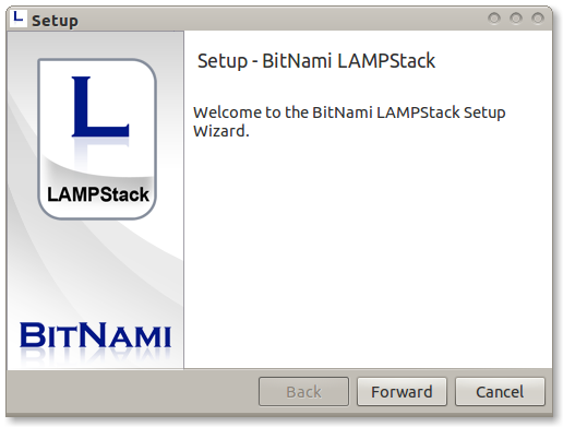 Lampstack welcome.png