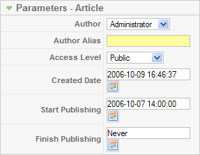 Article parameters article.png