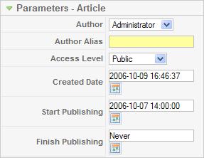 Article parameters article.png