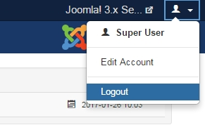 J3 X Logging In Or Out Of The Administrator Back End Joomla Documentation