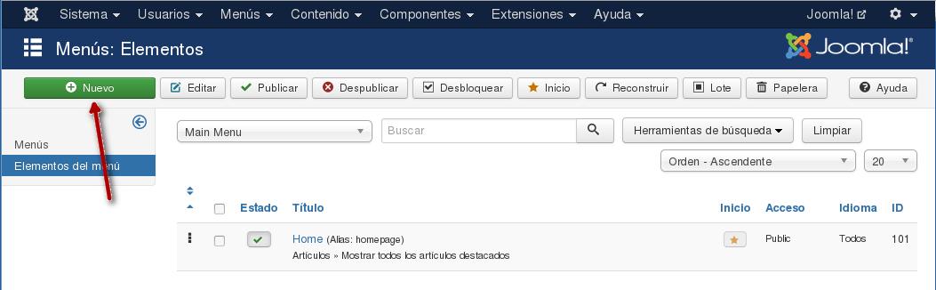 Clic En Nuevo