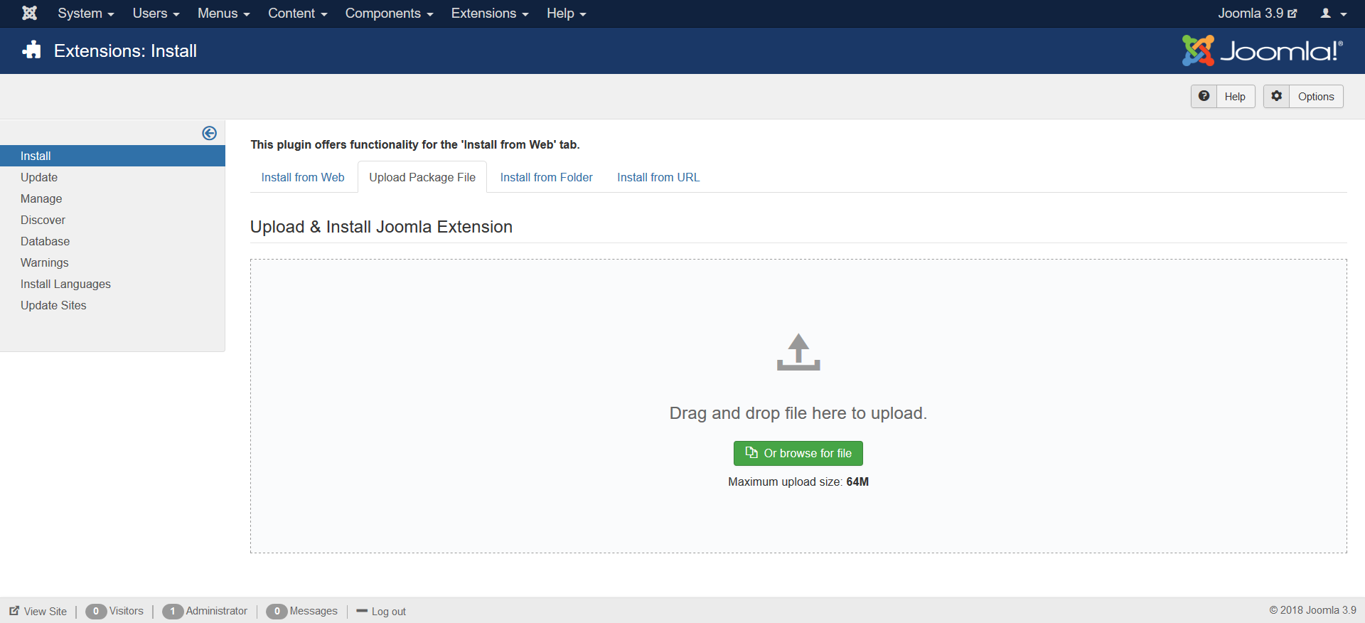 j3 x installing a template joomla documentation