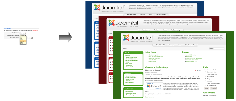 J15template parameters joomla documentation template parametersg altavistaventures Choice Image