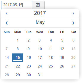 Calendar form field type - Joomla! Documentation