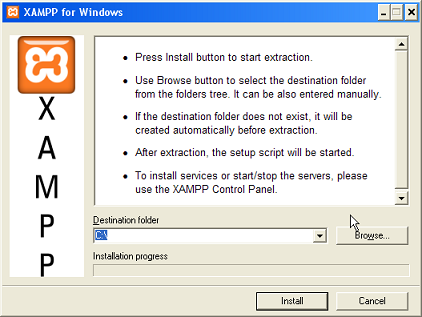 xampp 1.7.3 pour windows