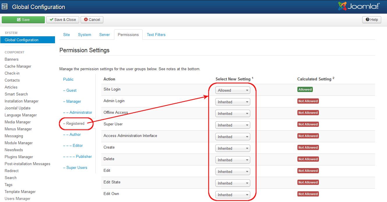 J3 x:Access Control List Tutorial - Joomla! Documentation