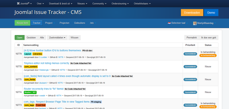Joomla issue tracker-nl.png