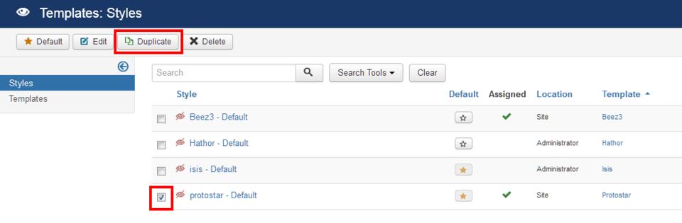 J3xsetup A Multilingual Siteduplicate Your Template Joomla