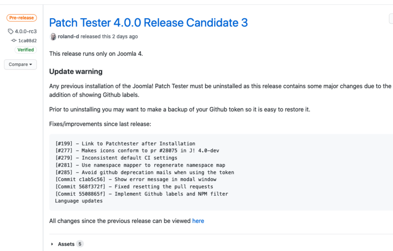 Joomla PatchTester 4 0 0-beta3.png