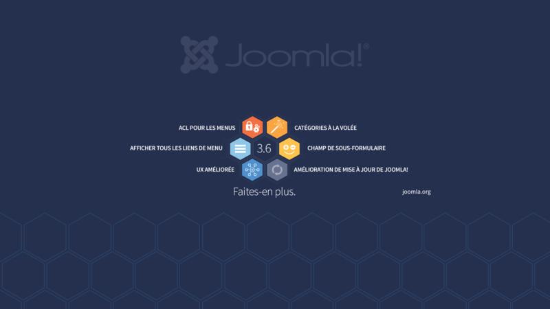 Visuels Joomla 36 Joomla Documentation